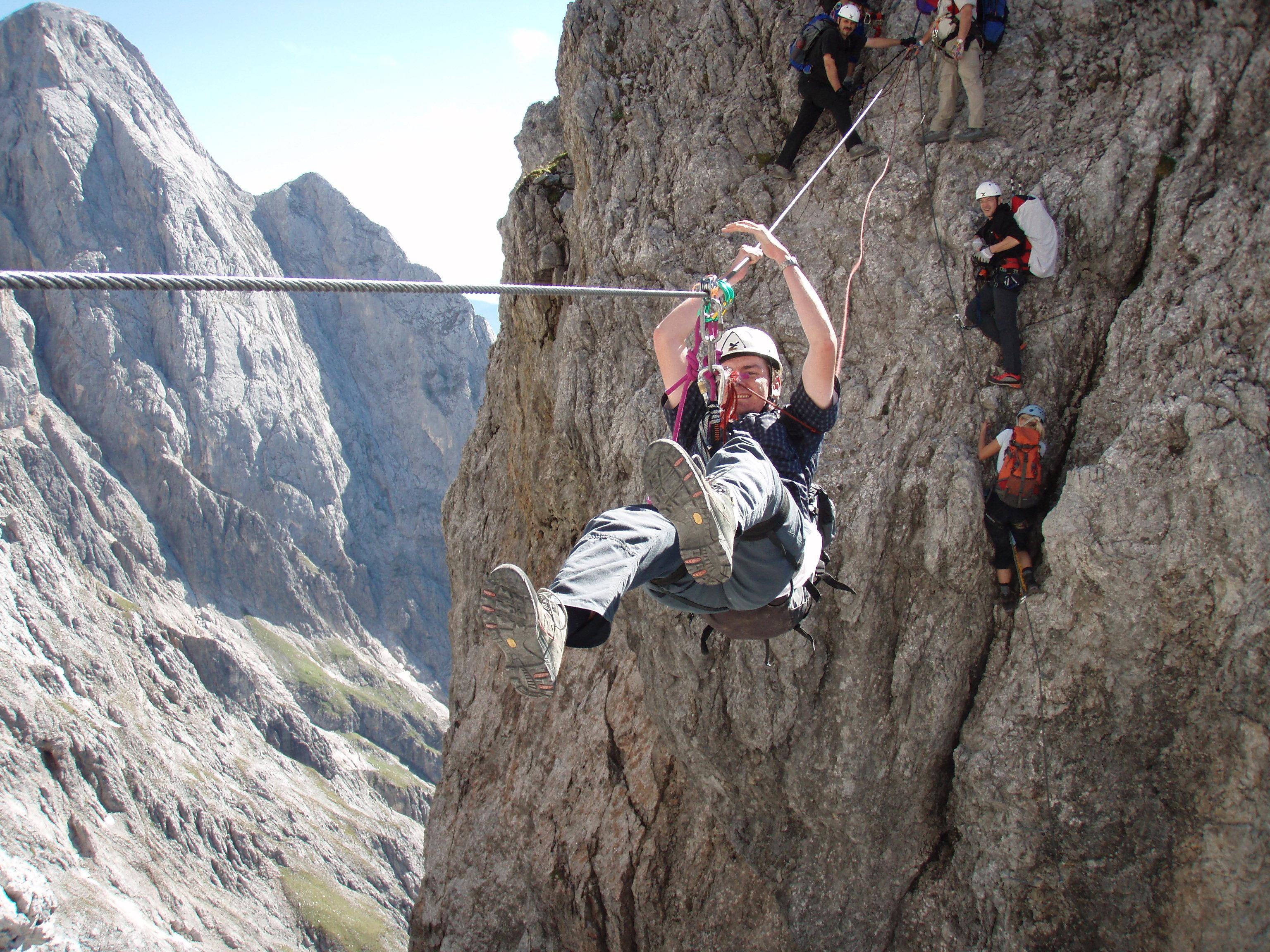 Klettersteig Hochkönig : Einfach hinsetzen und sterben